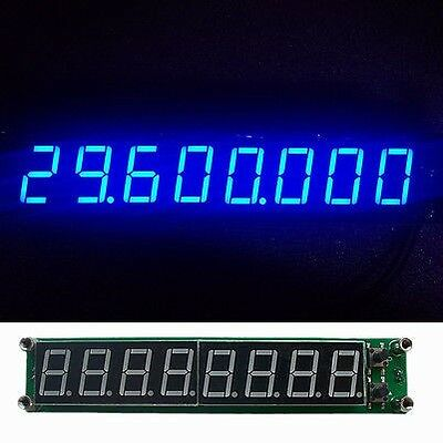 blue 0.1-60MHz 20MHz ~ 2.4GHz RF Singal Frequency Counter Cymometer Tester Meter