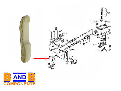 Vw Polo Mk3 3F 6N1 6N2 Hatchback Lupo Gear Selector Lever Linkage Rod C498