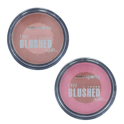 Miss Sporty Ohh Blushed Again Two Tones Blusher