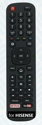 New Replacement Remote for HISENSE LED/LCD/HDTV/3DTV