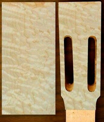 Headplate - Quilted Maple