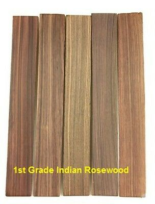 New Guitar Parts Fingerboard Blank - Indian Rosewood - 1st Grade