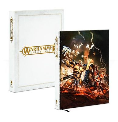 Warhammer Age of Sigmar book - Limited Edition Rulebook limited to 2000 OOP