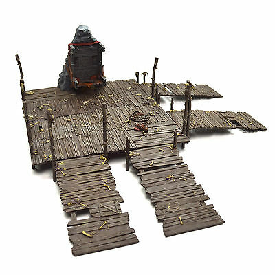 The Hobbit Escape from Goblin Town Scenery PRO PAINTED LOTR