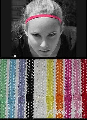 UK Women Man Headband Hair Rope Elastic Yoga Sports Gym Stretch Band Accessories