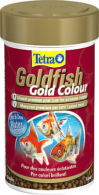 TETRA GOLDCOLOUR 250ML MANGIME PESCI ROSSI COLORI BRILLANTI cod. 29014798