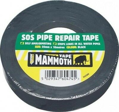 Everbuild Mammoth Sos Pipe Repair Tape 25mm X 5M