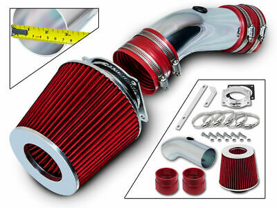 Short Ram Air Intake Kit + RED Filter for 92-95 Grand Marquis / Town Car 4.6L V8