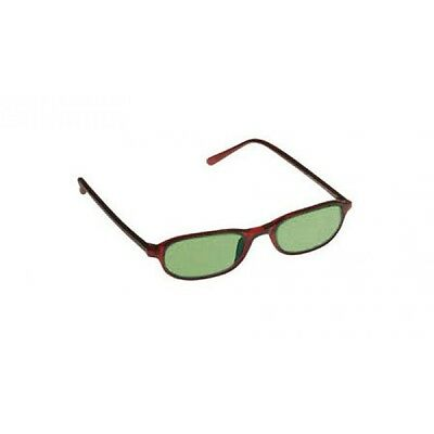 Green Shade #2.0 Glass Working Spectacles In Plastic Burgundy Downtown Designer