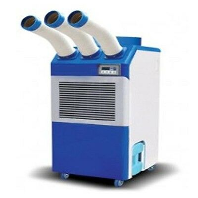 Portable Air Condioner - 29,000 BTU - 230 V - 1 Ph - Triple Nozzle - Commercial