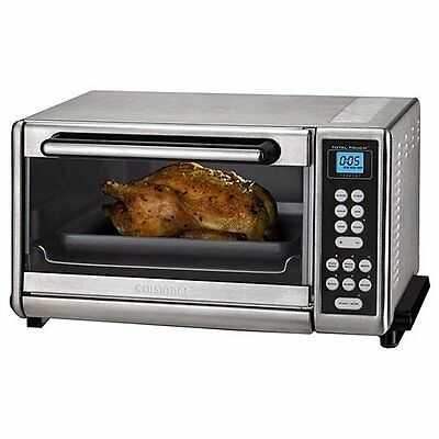 Cuisinart CTO-140PCFR Toaster Oven Broiler with Convection, Stainless Steel (Cer