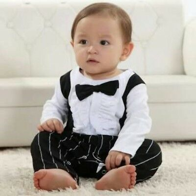 Baby boys party outfit 6-24 TIE BOW for wedding christmas birthday christening