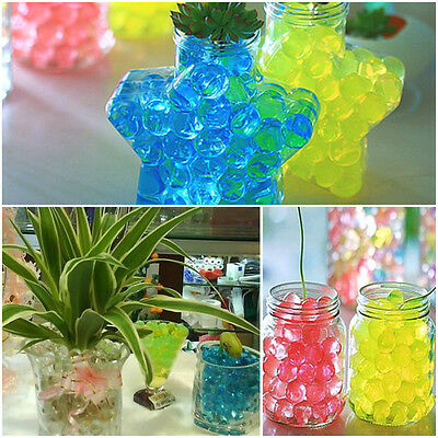 20/50bags Jelly Crystal Mud Soil Water beads flower plant magic ball wed