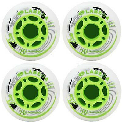 DZ926* PU Replacement Wheels For Rollerblade Skating Inline Skate Shoes 76mm 4PC