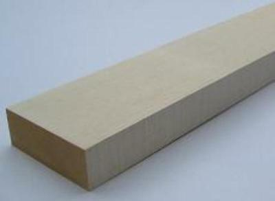 New Guitar Parts Neck Blank - Maple, Bass Size