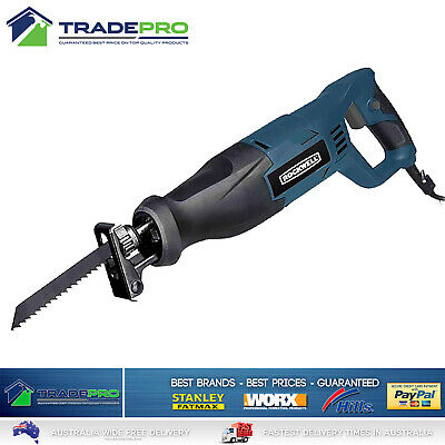 Reciprocating Recipro Saw with 6PC Blade Kit & Case Sabre Saw 800W Cut Off