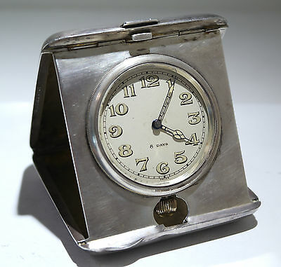 BLACKINTON Sterling Silver Travel Clock Concord Watch HIALEAN Club Chas Shelden • £1,513.04