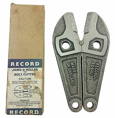 Record Replacement Bolt Cutter Jaws 924H - Made In England