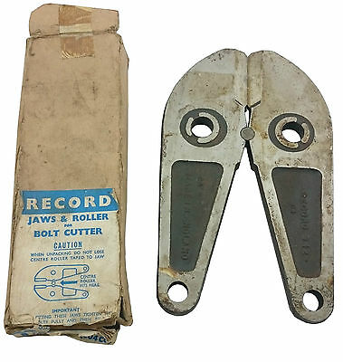 Record Replacement Bolt Cutter Jaws 942 - Made In England