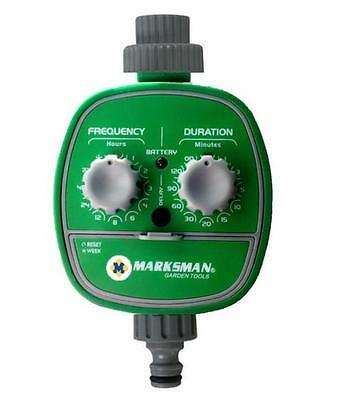 Green Automatic Electronic Watering Irrigation System Water Timer Garden 70322C