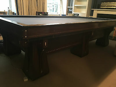 10ft 100 year old Brunswick Carom Arcade model art deco table