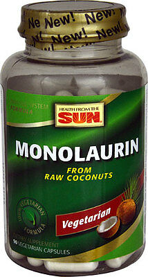 Monolaurin from coconut 550mg x 90 capsules