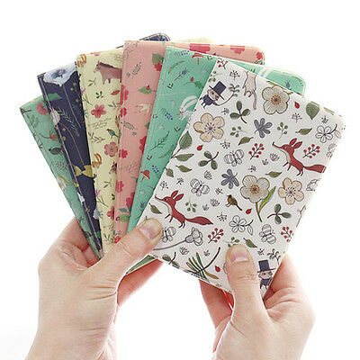 Cute Willow Story Animal Passport Holder Cover Card Case Travel Wallet Organizer