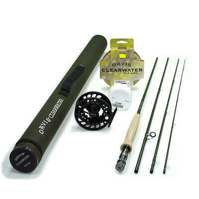 Orvis Clearwater 4 weight 9ft Fly Rod Outfit 904-4 FREE SHIPPING IN THE US