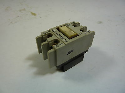 Allen Bradley 195-FA11 Auxiliary Contact 1NO/1NC  USED