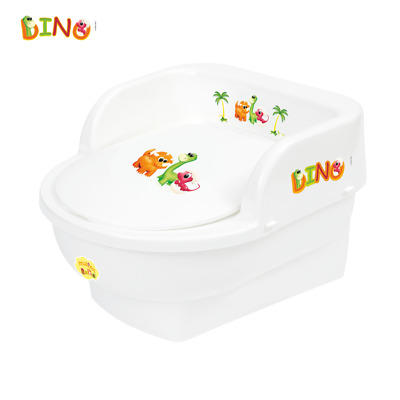 Dino Kids Toddler Throne Potty Seat Toilet Training Chair Removable Lid