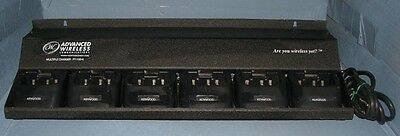 6 Unit Gang Charger For Kenwood TK-372 2-Way Radios