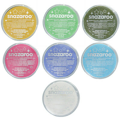 Snazaroo Professional Water Based Sparkle Face & Body Paint Compact 18ml