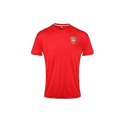 Official Football OF300 Arsenal FC Adults Performance T-shirt Sizes S-2XL