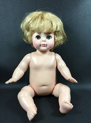 "Vogue Baby Doll 12"" Blonde With Green Sleep Eyes"