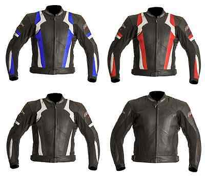 RST Ladies Blade Leather Motorcycle Motorbike Jacket CE Armour 4 Colours