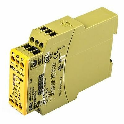 Pilz P2HZ X3 24VDC 2n/o 1n/c Two-hand Safety Relay 774350