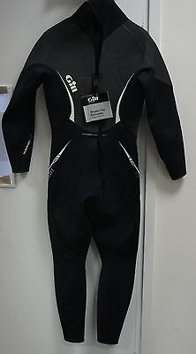 GILL full body wetsuit Mens Colour Black Size Small