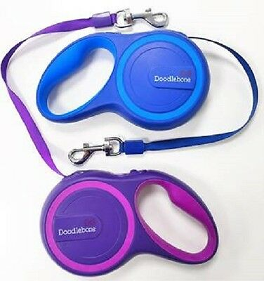 Doodlebone Retractable Dog Lead 5m Suitable For Dogs Up To 25kg