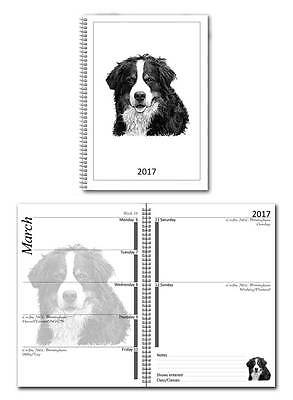 Bernese Mountain Dog Small 2017 Show Diary with Championship Show Dates