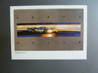 1970 Porsche 917 Coupe, Porsche Factory Issued Postcard RARE Awesome L@@K