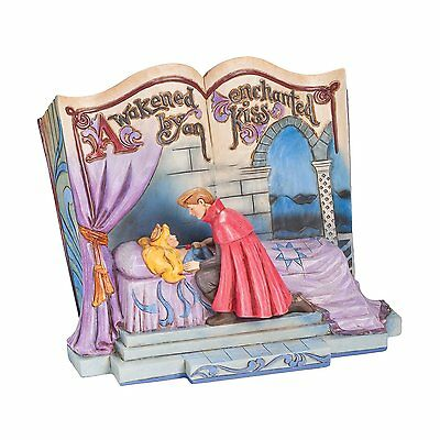 Official Disney Traditions Sleeping Beauty Enchanted Kiss Storybook Figurine