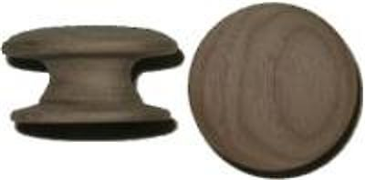 "Hardwood Knob With Wide Base - 1-1/2""   W20387B"