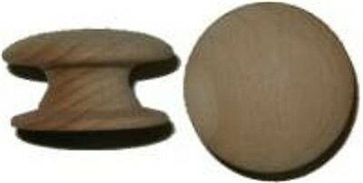 "Hardwood Knob With Wide Base - 1-1/2""   W1-0386B"