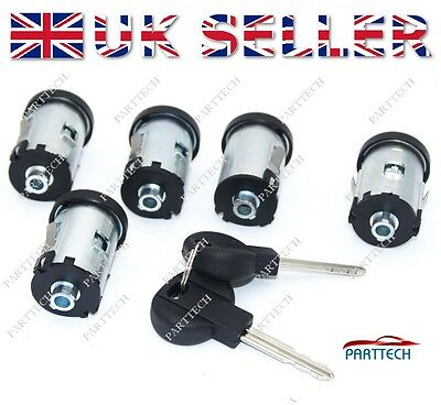 Peugeot  Expert (1996–2007)  COMPLETE LOCK SET with 2 KEYS - FULL SET - NEW
