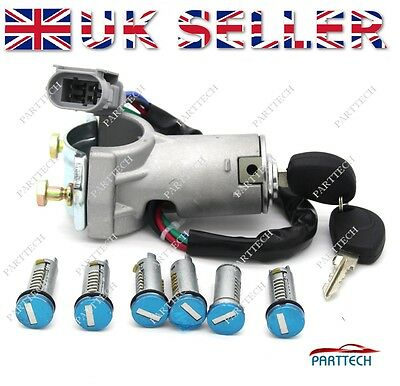 IVECO DAILY 2000-2006 Ignition Switch Lock Barrel & Door LockSet SET 7 pcs NEW