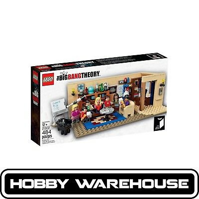LEGO 21302 Ideas The Big Bang Theory (BRAND NEW SEALED)