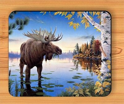 MOOSE NORTH WILD LIFE MOUSE PAD -hy65es