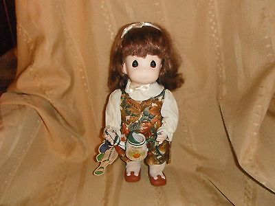 precious moments garden of friends 13 inch doll 1995 october pumpkin with tag