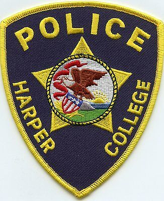 HARPER COLLEGE Palatine ILLINOIS IL POLICE PATCH