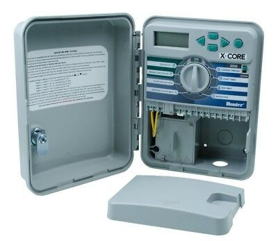 Hunter X-Core Outdoor Irrigation Controller 4, 6 or 8 Stations, Save Water.